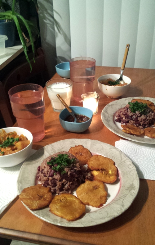 Haiti meal