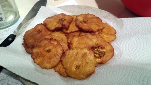 plantain discs