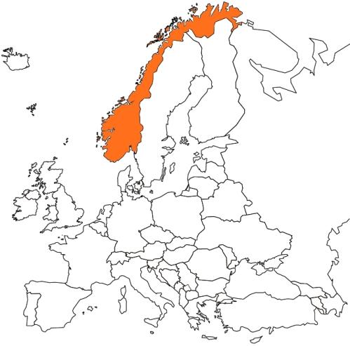 NWY map