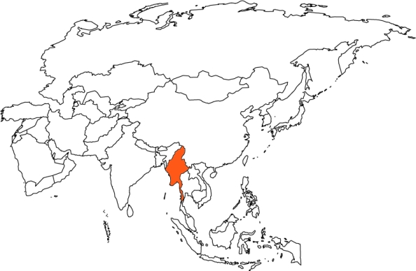 MYA map