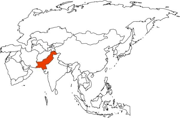 PAK map