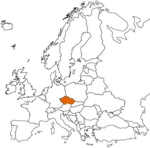 CZE map